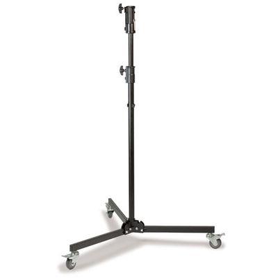 Für weitere Info hier klicken. Artikel: Kaiser Studio-Stativ mit Rollen, von 1,31 m bis 2,17 m einstellbar. Belastbarkeit max. 25 kg.