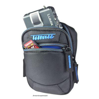 Für weitere Info hier klicken. Artikel: Kaiser Tiltall Gürtel-/Umhängetasche Escord TB-03, für Kompaktkameras schwarz