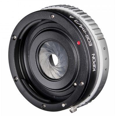 Für weitere Info hier klicken. Artikel: Kipon Adapter Canon EF auf MFT mit Blende