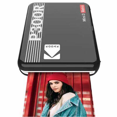 Für weitere Info hier klicken. Artikel: Kodak Mobiler Drucker Mini 3 Plus Retro 3,3x3,3 schwarz