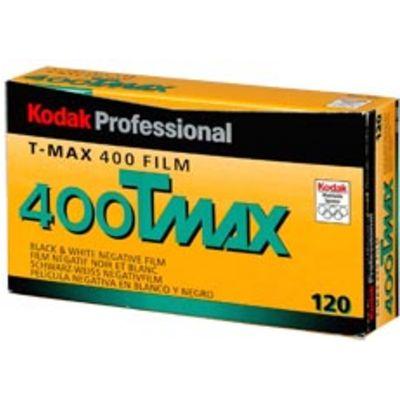 Für weitere Info hier klicken. Artikel: Kodak T-MAX 400 Prof.120 5er-Pack