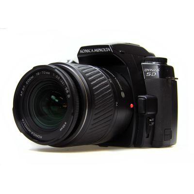 Für weitere Info hier klicken. Artikel: Konica-Minolta Dynax 5D mit DT 18-70mm -Second Hand-