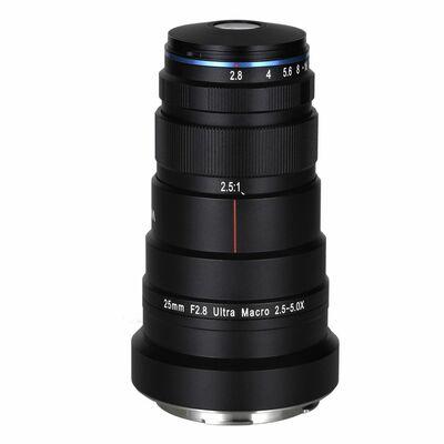 Für weitere Info hier klicken. Artikel: LAOWA 25mm f/2,8 Ultra Macro 2,5-5x L-Mount