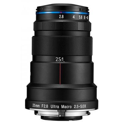 Für weitere Info hier klicken. Artikel: LAOWA 25mm f/2,8 Ultra Macro 2,5-5x Nikon FX
