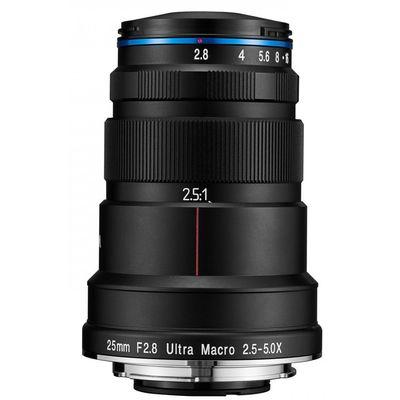 Für weitere Info hier klicken. Artikel: LAOWA 25mm f/2,8 Ultra Makro 2,5-5x Sony FE-Mount