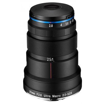 Für weitere Info hier klicken. Artikel: LAOWA 25mm f/2,8 Ultra Macro 2,5-5x Sony FE-Mount