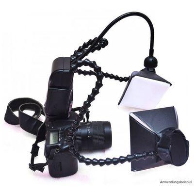 Für weitere Info hier klicken. Artikel: LAOWA Kuangren KX-800 Macro Twin Lite Blitzgerät