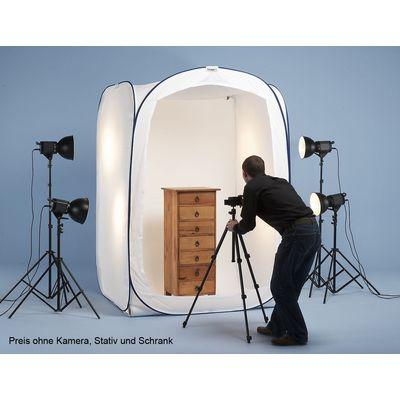 Für weitere Info hier klicken. Artikel: Lastolite Cubelite 1.5m x 1.5m x 2.1m