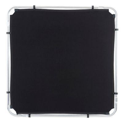 Skylite Samtüberzug 1,1x1,1m schwarz