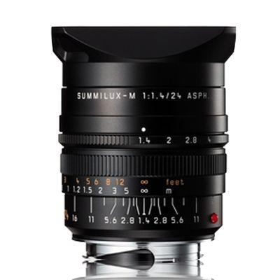 Für weitere Info hier klicken. Artikel: Leica 1,4/24 Summilux-M ASPH. schwarz Leica M