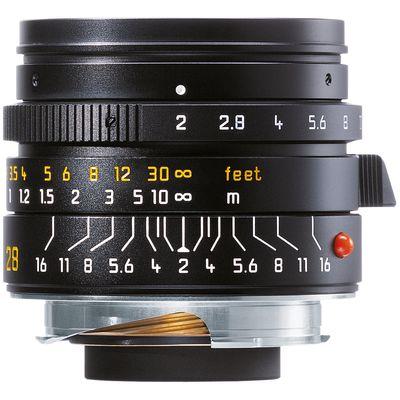 Für weitere Info hier klicken. Artikel: Leica 2,0/28 Summicron-M schwarz Leica M