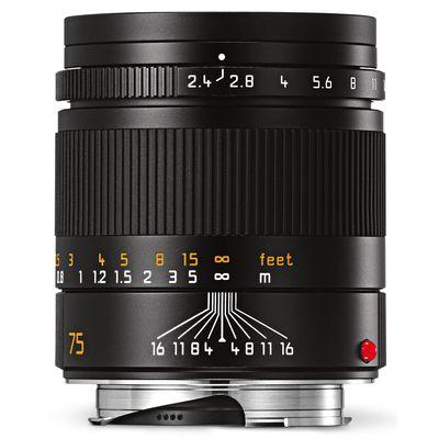 Für weitere Info hier klicken. Artikel: Leica 2,4/75 Summarit-M schwarz Leica M