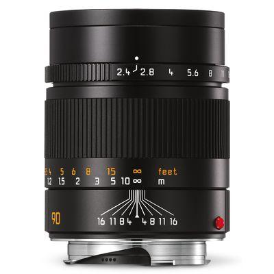 Für weitere Info hier klicken. Artikel: Leica 2,4/90 Summarit-M schwarz Leica M