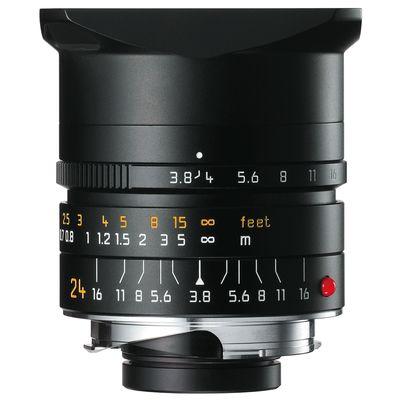 Für weitere Info hier klicken. Artikel: Leica 24mm f/3,8 Elmar-M Asph. schwarz Leica M