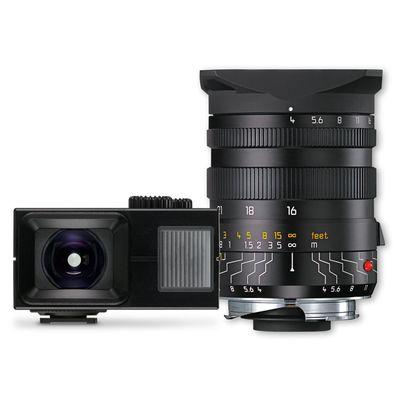 Für weitere Info hier klicken. Artikel: Leica 4,0/16-18-21 Tri-Elmar-M+Sucher schwarz Leica M
