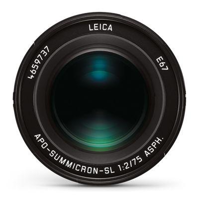 Für weitere Info hier klicken. Artikel: Leica APO-SUMMICRON-SL 75mm f/2 ASPH schwarz-eloxiert L-Mount