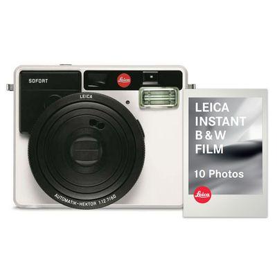 Für weitere Info hier klicken. Artikel: Leica SOFORT Schwarz-Weiß-Set weiß