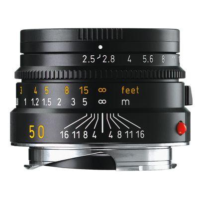 Für weitere Info hier klicken. Artikel: Leica Summarit-M 2,5/50 schwarz Leica M
