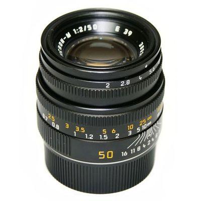 Für weitere Info hier klicken. Artikel: Leica Summicron-M 1:2/50mm -G- schwarz