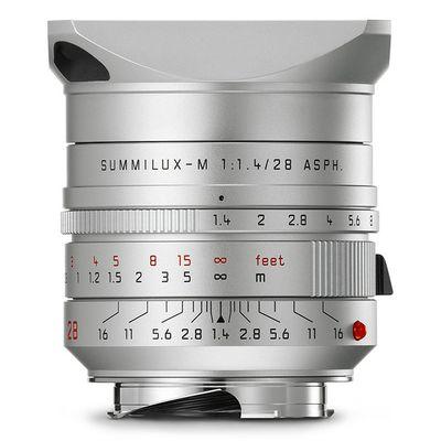 Für weitere Info hier klicken. Artikel: Leica Summilux-M 28mm f/1,4 ASPH. Leica M silber eloxiert
