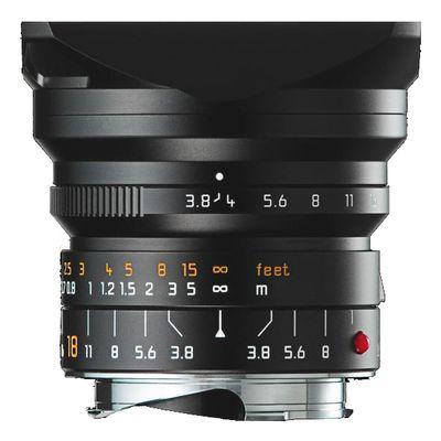 Für weitere Info hier klicken. Artikel: Leica SUPER-ELMAR-M 3,8/18 ASPH. Leica M schwarz