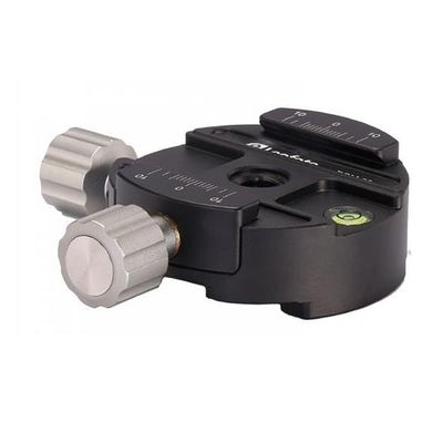 Für weitere Info hier klicken. Artikel: Leofoto Dual dical clamp 60 mm