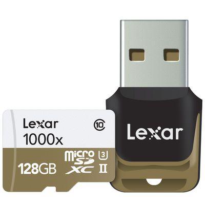 Für weitere Info hier klicken. Artikel: Lexar micro SD UHS-II 1000x inkl. USB 3.0 Lesegerät 128 GB