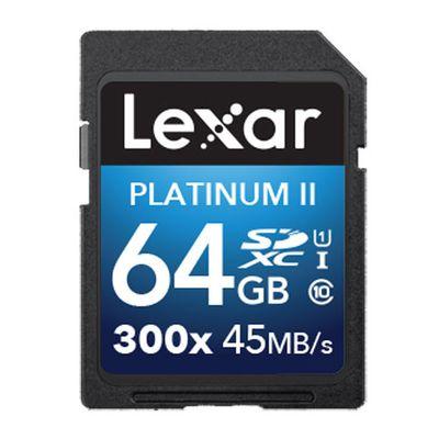 Für weitere Info hier klicken. Artikel: Lexar Platinum II 300x SDHC/SDXC UHS-1 64 GB