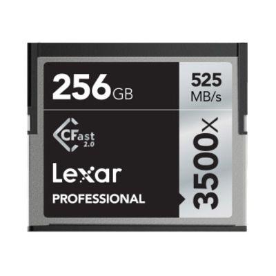 Für weitere Info hier klicken. Artikel: Lexar Professional CFast 3500x, 525MB/s 256 GB