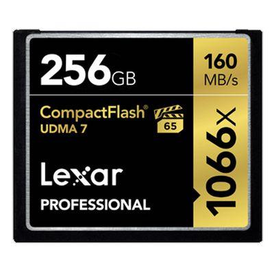 Für weitere Info hier klicken. Artikel: Lexar Professional CompactFlash 1066x UDMA7, 160MB/s 256 GB