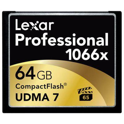 Für weitere Info hier klicken. Artikel: Lexar Professional CompactFlash 1066x UDMA7, 160MB/s 64 GB