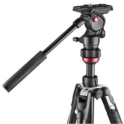 Für weitere Info hier klicken. Artikel: Manfrotto Befree Live Alu Kit mit Fluid-Videokopf Klemmverschluss