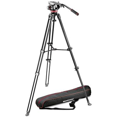Für weitere Info hier klicken. Artikel: Manfrotto Kit Video Telescopic MVK502AM-1