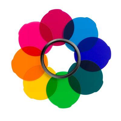 Für weitere Info hier klicken. Artikel: Manfrotto Lumie Farbfilter Kit 8 Farben bunt