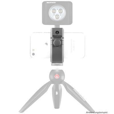 Für weitere Info hier klicken. Artikel: Manfrotto TwistGrip universal Stativklemme für Smartphone