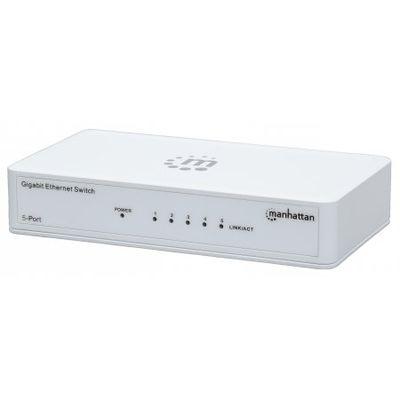 Für weitere Info hier klicken. Artikel: Manhattan 5-Port Gigabit Ethernet Switch weiß