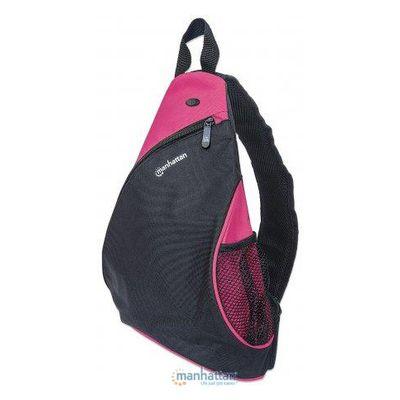 Für weitere Info hier klicken. Artikel: Manhattan Dashpack Notebookrucksack schwarz-pink