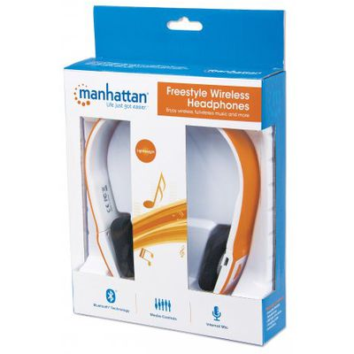 Freestyle Bluetooth-Kopfhörer orange
