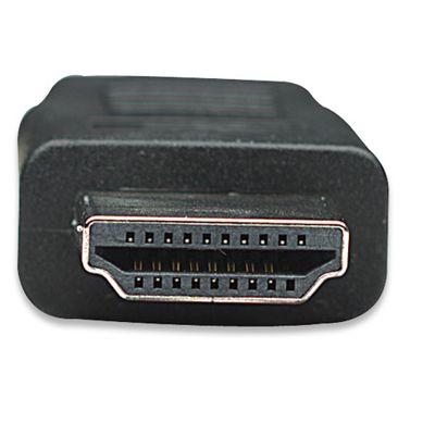 Für weitere Info hier klicken. Artikel: Manhattan High Speed HDMI Kabel 1 m schwarz