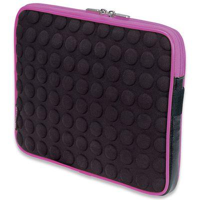 Für weitere Info hier klicken. Artikel: Manhattan Tablet Bubble Case schwarz-pink