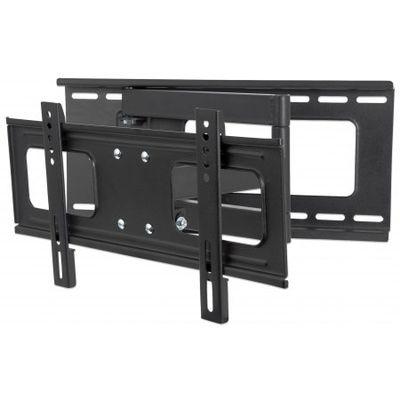 Universal Wandhalterung für Flachbildschirme, neig- und schwenkbar schwarz 0