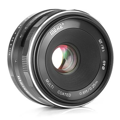 Für weitere Info hier klicken. Artikel: Meike 25mm f/1,8 Nikon CX