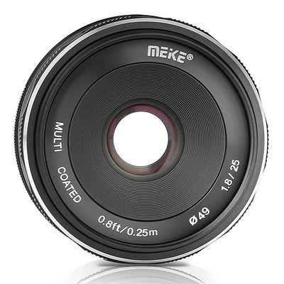 Für weitere Info hier klicken. Artikel: Meike 25mm f/1,8 Sony E-Mount