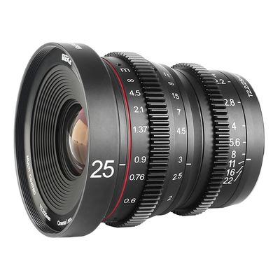 Für weitere Info hier klicken. Artikel: Meike 25mm T2.2 Cine Lens Sony E-Mount