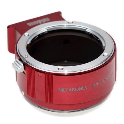 Für weitere Info hier klicken. Artikel: Metabones Adapter Nikon F rot Sony NEX
