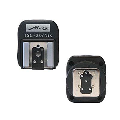 Für weitere Info hier klicken. Artikel: Metz Blitzschuh-Adapter für Nikon TSC-20