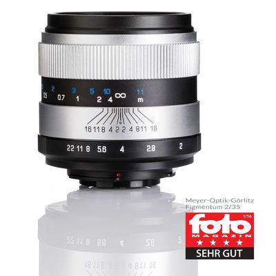 Für weitere Info hier klicken. Artikel: Meyer-Optik-Görlitz 2,0/35 Figmentum Canon EF