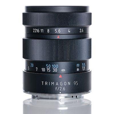 Für weitere Info hier klicken. Artikel: Meyer-Optik-Görlitz 2,6/95 Trimagon Canon EF