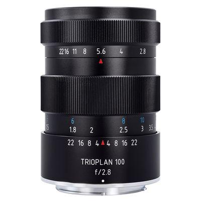 Für weitere Info hier klicken. Artikel: Meyer-Optik-Görlitz 2,8/100 Trioplan Canon EF