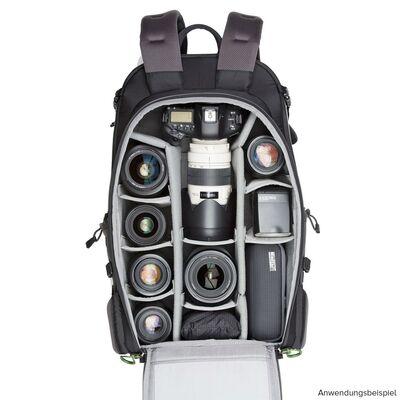 Für weitere Info hier klicken. Artikel: MindShift BackLight charcoal 36L photo daypack